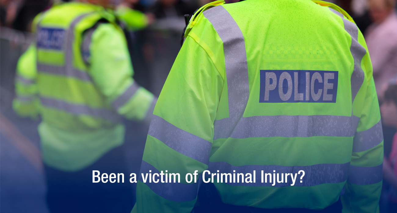 Been a victim of Criminal Injury?